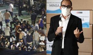 Motín en penal Castro Castro: Jefe del INPE asegura cumplir protocolos sanitarios