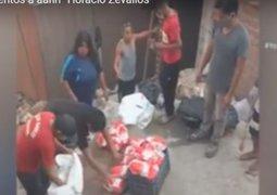 """Rímac: el Asentamiento Humano """"Horacio Zevallos"""" recibe ayuda de la municipalidad"""