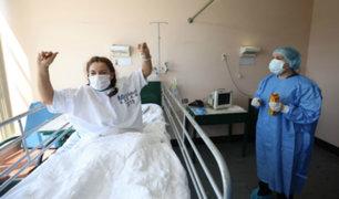 Hospital Rebagliati: tres pacientes dejan UCI y regresan a casa tras vencer al Covid-19