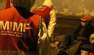 Estado de emergencia: MIMP atendió a 120 adultos mayores en situación de abandono