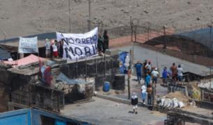 Refuerzan seguridad en penal de Lurigancho ante protesta de internos