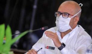 Ministro Zamora anuncia traslado diario de 9 mil metros cúbicos de oxígeno a Loreto