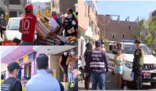 El Agustino: municipio llevó a cabo operativo para hacer respetar cuarentena
