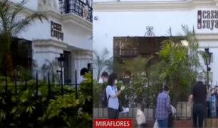 Miraflores: dos personas escaparon de hotel donde cumplían cuarentena tras ser repatriados
