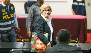 Susana Villarán pide a juez su excarcelación por riesgo del COVID 19