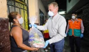 Municipalidad de Lima entregó más de 5 mil canastas a vecinos del Cercado