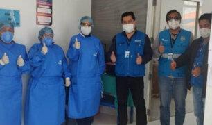 ¡Buena noticia! Paciente de 60 años con Covid-19 fue dado de alta en Puno
