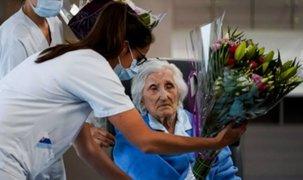 Julia Dewilde, la anciana de 100 años que superó el coronavirus en Bélgica