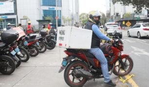 Delivery de comida podrá realizarse a nivel distrital o vecinal en primera etapa
