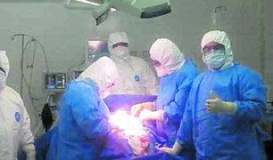 Huánuco: mujer con coronavirus dio a luz sin complicaciones a una niña