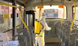 Conozca las medidas que se implementarán en los buses para evitar contagios