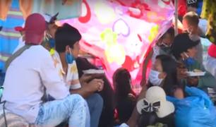 Cientos de peruanos a la espera de un vuelo humanitario para regresar a sus regiones