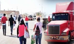 Huarmey: camionero es detenido por transportar a 50 caminantes en plena pandemia