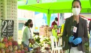 Mercados itinerantes descongestionan grandes centros de abastos en plena pandemia