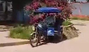 Pucallpa: fallece sub oficial de la Policía en el frontis del hospital Yarinacocha