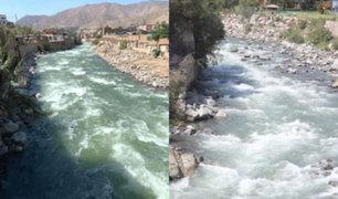 Día 46 por el Covid-19: Aguas del río Rímac ahora lucen claras y limpias