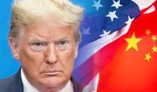 "COVID-19: Donald Trump afirma que ""incompetencia"" de China causó ""matanza mundial"""