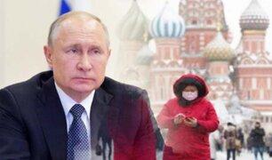 Vladimir Putin extendió la cuarentena en Rusia