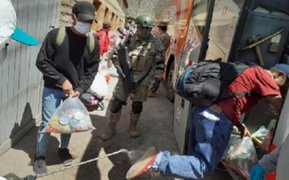 Huancavelica: 14 migrantes con COVID-19 escaparon de albergues donde cumplían cuarentena