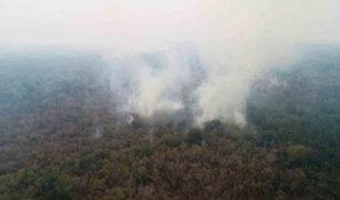 México: incendios consumen extensos bosques en el estado de Quintana Roo
