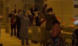 [VIDEO] Ciudadanos de Huancavelica fueron dados de alta de la Villa Panamericana