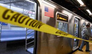 EEUU: todas las madrugadas desinfectarán el metro de Nueva York
