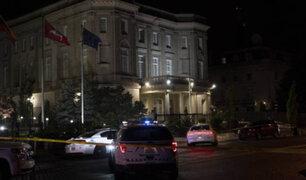 Detienen sujeto que disparó contra la embajada de Cuba en EEUU
