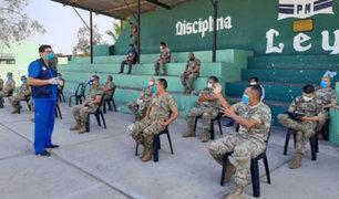 Covid-19: militares y policías reciben charlas de soporte emocional