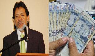 César Gutiérrez comenta transferencia de fondos estatales para apoyar a Mypes privadas