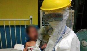 Bebé de 16 días de nacido venció al COVID-19 en Filipinas