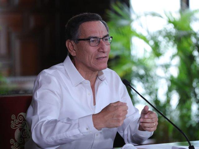 Presidente Martín Vizcarra plantea reforma del sistema de AFP