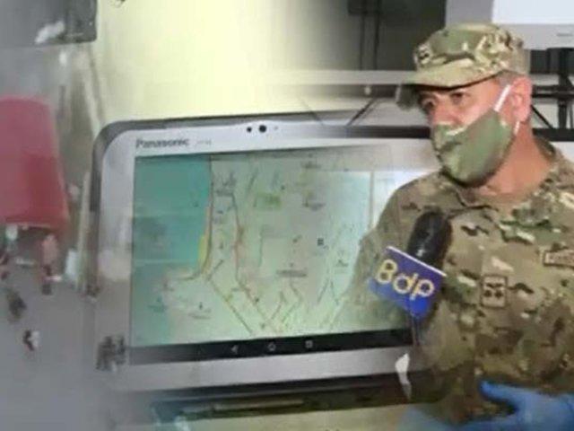La FAP nos cuida también con sus drones en este estado de emergencia