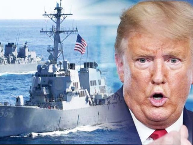 Trump envía militares navales a la costa de Venezuela para combatir el narcotráfico