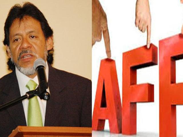 César Gutiérrez: Reforma de las AFP no solo pasa por las comisiones