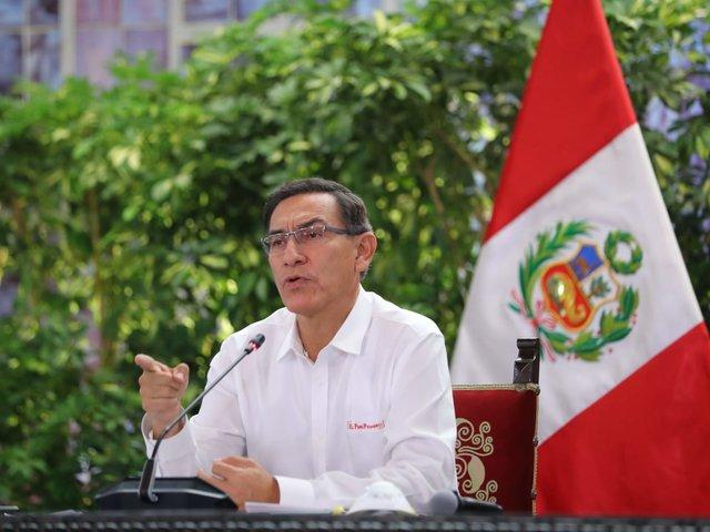 Presidente Vizcarra: casos de coronavirus se elevaron de 1,414 a 1,595 en el país
