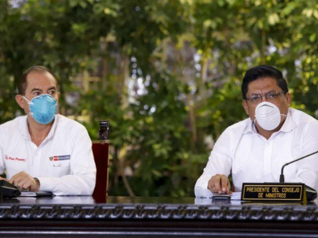 Zeballos: Fuerzas Armadas y Policía reforzarán control en frontera con Ecuador