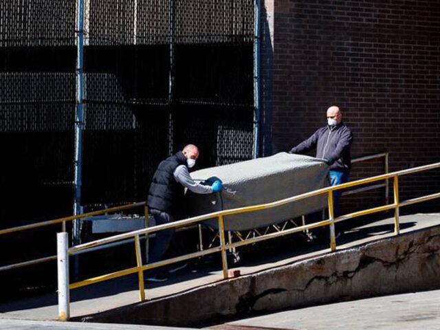 Covid-19: Pentágono busca 100 mil bolsas para cadáveres ante avance de pandemia