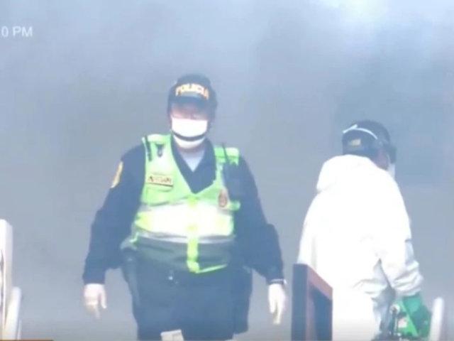 La Victoria: desinfectan comisaría donde trabajó policía que falleció por coronavirus