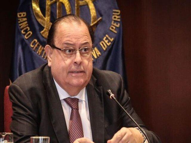 BCR proyecta una contracción de la economía de 12.5% para este 2020