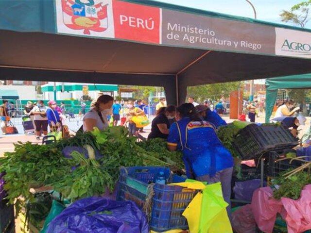 Surco, Ventanilla y SJM serán los próximos distritos en ser visitados por mercado itinerante del Minagri