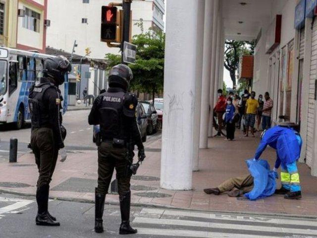 Coronavirus en Ecuador: hasta 150 cadáveres son retirados por día de Guayas
