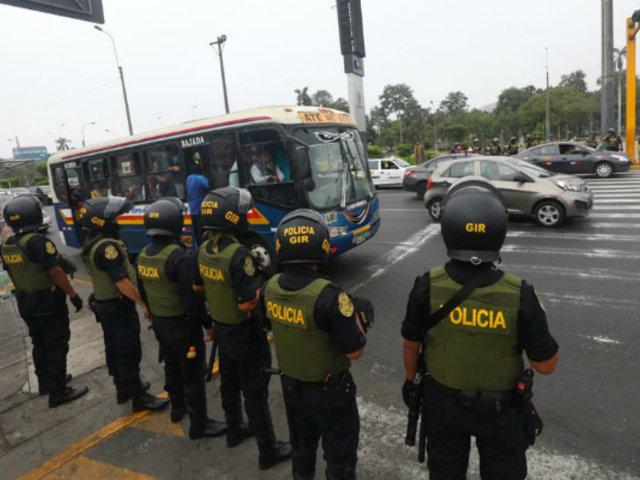 Mininter: tres policías muertos por Covid-19 y al menos 20 contagiados