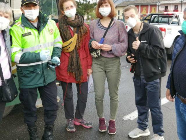 Cajamarca: casi 30 extranjeros del voluntariado social regresaron a su país