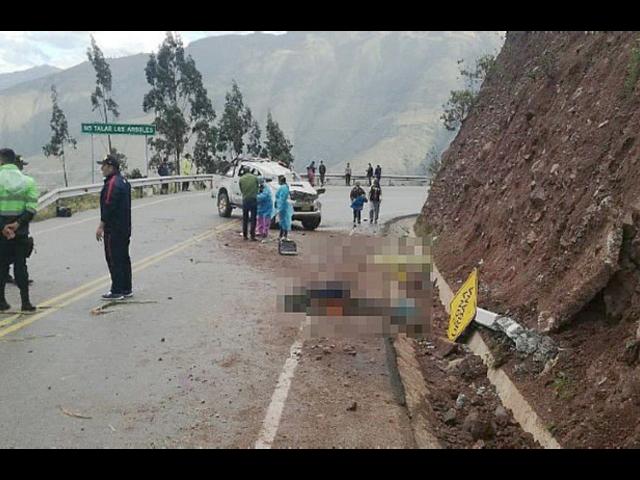 Apurímac: diez heridos y dos autoridades fallecen en despiste de camioneta