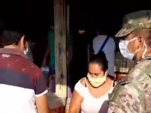 Piura: mujeres fueron detenidas por incumplir restricciones