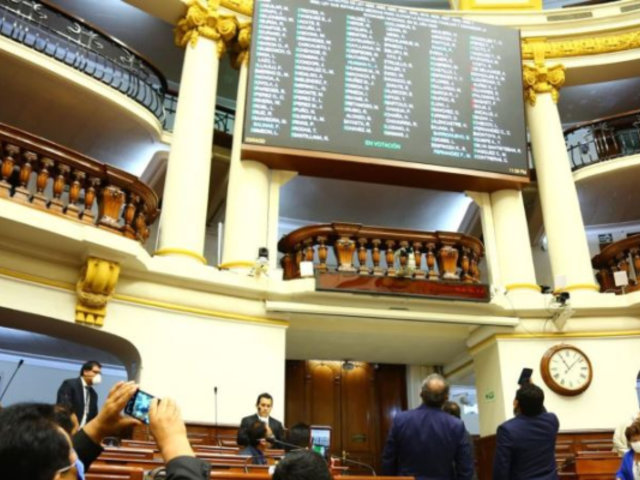 Congreso: Se aprobó proyecto que autoriza el retiro del 25% de fondos de AFP