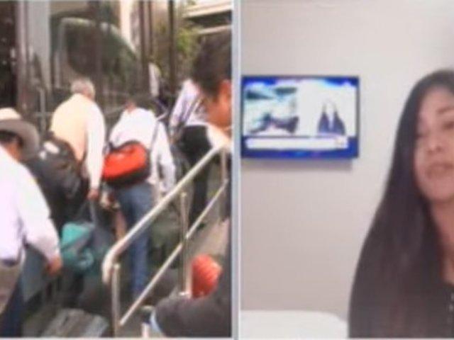Peruanos regresaron de Australia y cumplen con periodo de cuarentena