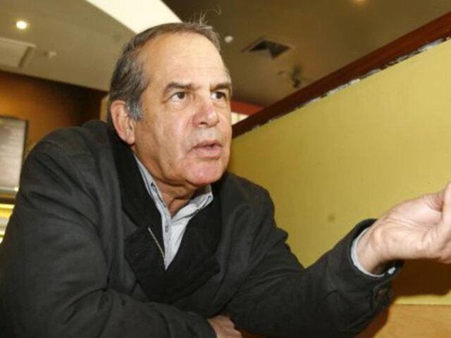 Covid-19: Roberto Chiabra señala que los militares no deberían salir con armas a las calles