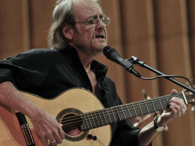 Falleció cantautor Luis Eduardo Aute a los 76 años