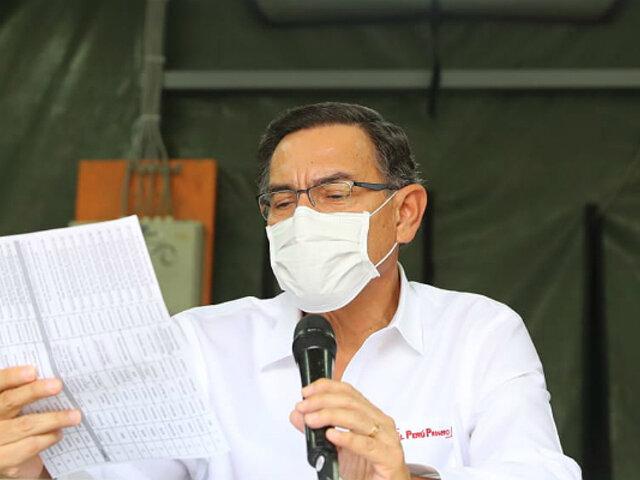 Martín Vizcarra: ya son 914 personas dadas de alta tras contraer coronavirus